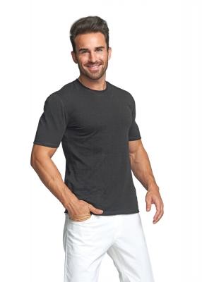 Strahlenschutz Basic Kurzarm-Shirt für Herren - schwarz