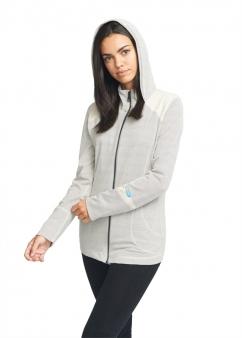 Strahlenschutz Jacke mit Kapuze für Damen - beige