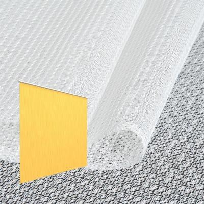 Strahlenschutz Gardine Topas-CS (weiß) - Kräuselverhältnis 1:1