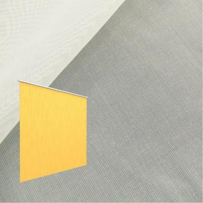 Strahlenschutz Gardine Sunshine (ecru) - Kräuselverhältnis 1:1