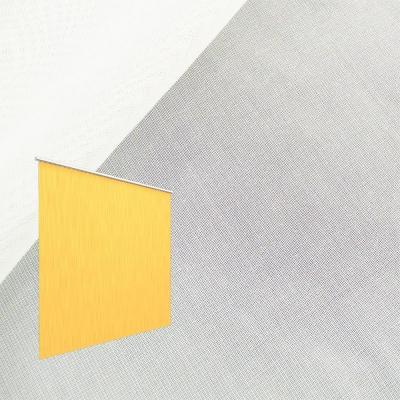 Strahlenschutz Gardine Sunshine (weiß) - Kräuselverhältnis 1:1