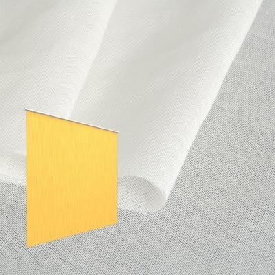 Strahlenschutz Gardine Swiss Shield Naturell (ecru) - Kräuselverhältnis 1:1