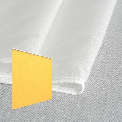 Strahlenschutz Gardine Swiss Shield Evolution (weiß) - Kräuselverhältnis 1:1