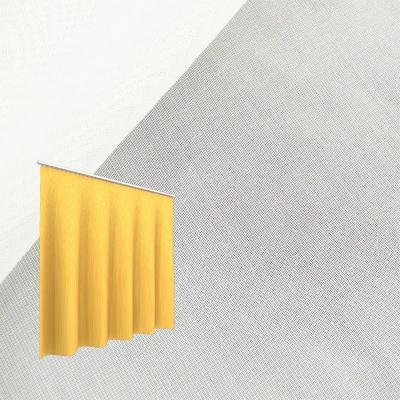 Strahlenschutz Gardine Sunshine (weiß) - Kräuselverhältnis 1:2,5