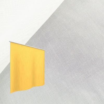 Strahlenschutz Gardine Sunshine (weiß) - Kräuselverhältnis 1:2