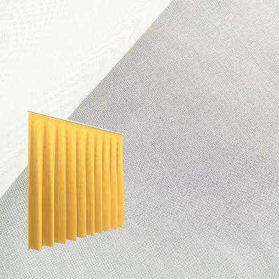 Strahlenschutz Gardine Sunshine (weiß) - Kräuselverhältnis 1:3