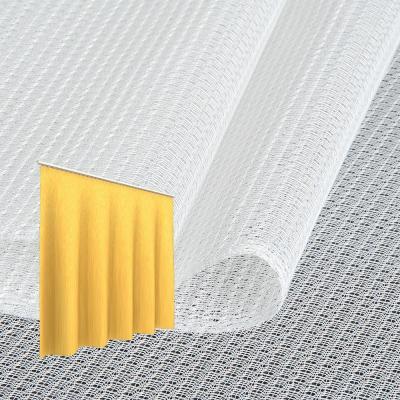 Strahlenschutz Gardine Topas-CS (weiß) - Kräuselverhältnis 1:2,5