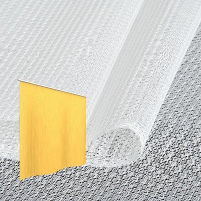 Strahlenschutz Gardine Topas-CS (weiß) - Kräuselverhältnis 1:2