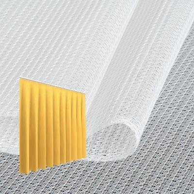 Strahlenschutz Gardine Topas-CS (weiß) - Kräuselverhältnis 1:3