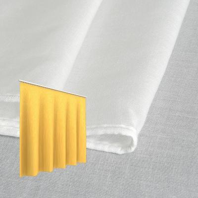 Strahlenschutz Gardine Swiss Shield Evolution (weiß) - Kräuselverhältnis 1:2,5