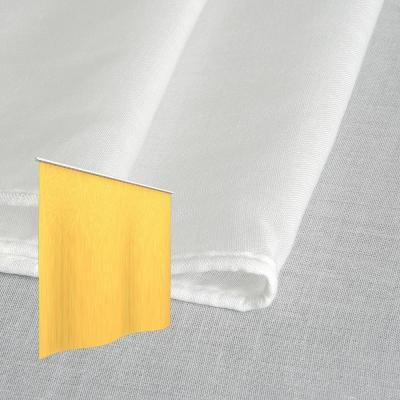 Strahlenschutz Gardine Swiss Shield Evolution (weiß) - Kräuselverhältnis 1:2