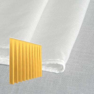 Strahlenschutz Gardine Swiss Shield Evolution (weiß) - Kräuselverhältnis 1:3