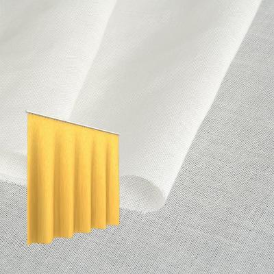 Strahlenschutz Gardine Swiss Shield Naturell (ecru) - Kräuselverhältnis 1:2,5