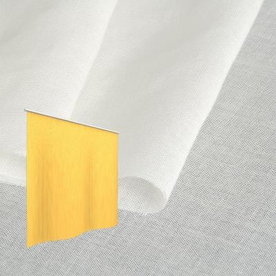 Strahlenschutz Gardine Swiss Shield Naturell (ecru) - Kräuselverhältnis 1:2