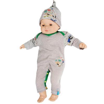 Strahlenschutz Overall Langarm für Babys und Kleinkinder - beige-bunt
