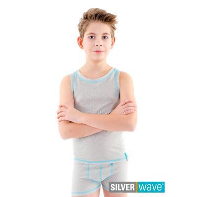 Strahlenschutz Achselhemd für Jungen - beige