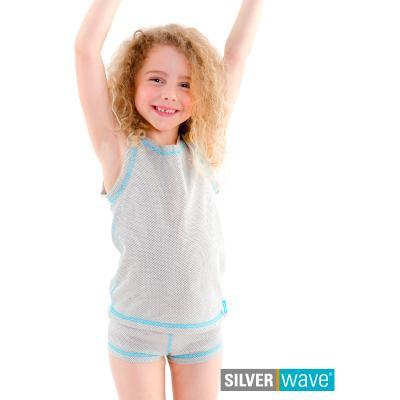 Strahlenschutz Achselhemd für Mädchen - beige