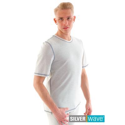 Strahlenschutz Basic Kurzarm-Shirt für Herren - beige