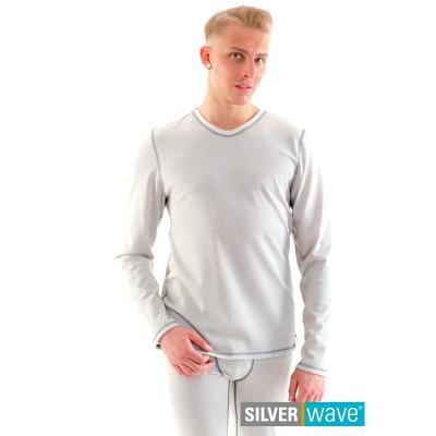 Strahlenschutz Basic Langarm-Shirt für Herren - beige