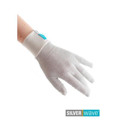Strahlenschutz Handschuhe für Damen - beige