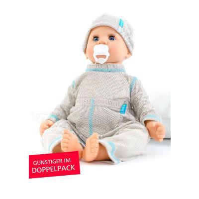 Strahlenschutz Legging für Babys - beige - Doppelpack