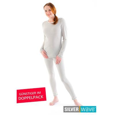 Strahlenschutz Legging für Damen - beige - Doppelpack