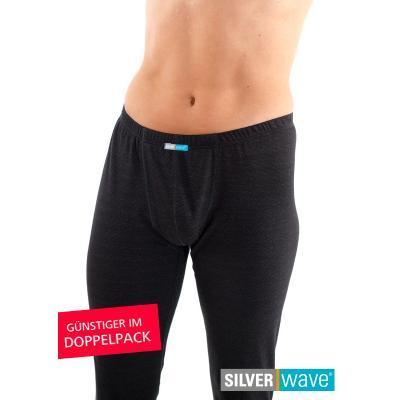 Strahlenschutz Legging für Herren - schwarz - Doppelpack