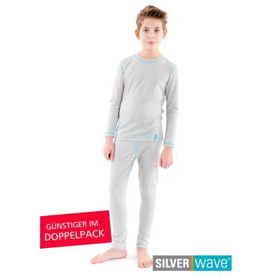 Strahlenschutz Legging für Jungen - beige - Doppelpack
