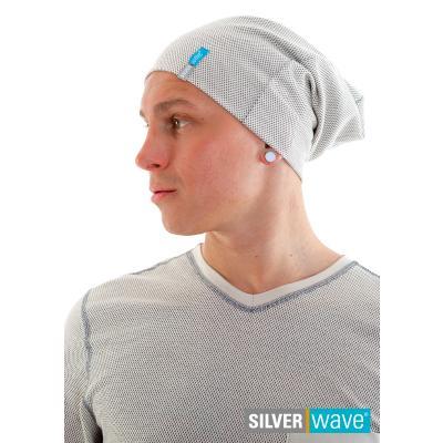 Strahlenschutz Long Beanie Mütze für Herren - beige