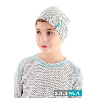 Strahlenschutz Mütze für Jungen - beige