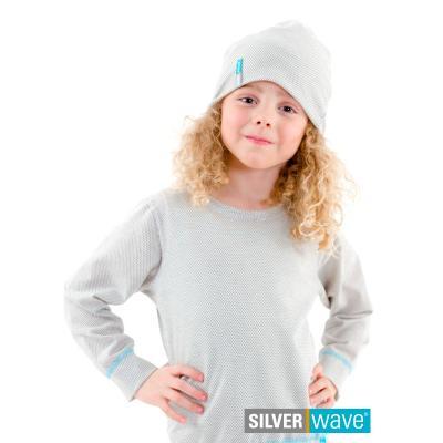 Strahlenschutz Mütze für Mädchen - beige
