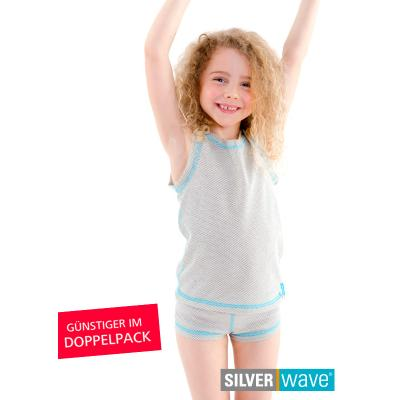 Strahlenschutz Panty für Mädchen - beige - Doppelpack