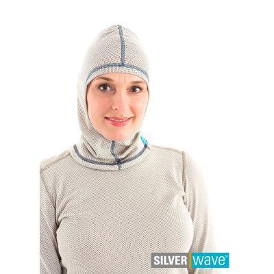 Strahlenschutz Schalmütze für Damen - beige