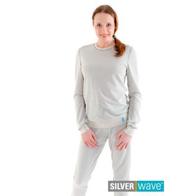 Strahlenschutz Schlafanzug für Damen - beige