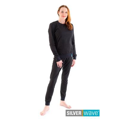 Strahlenschutz Schlafanzug für Damen - schwarz