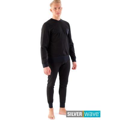 Strahlenschutz Schlafanzug für Herren - schwarz