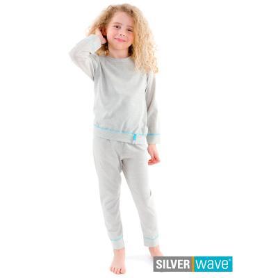 Strahlenschutz Schlafanzug für Mädchen - beige