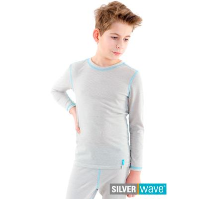 Strahlenschutz Shirt langarm für Jungen - beige