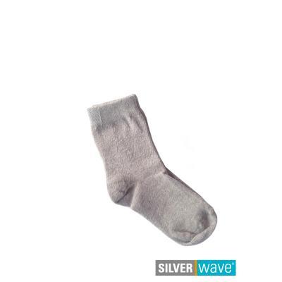 Strahlenschutz Socken für Babys - grau