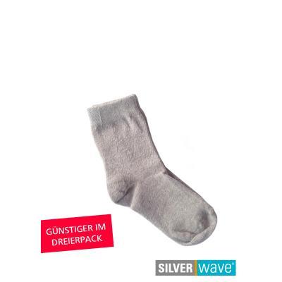 Strahlenschutz Socken für Babys - grau - Dreierpack