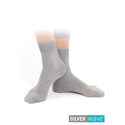 Strahlenschutz Socken für Damen - grau