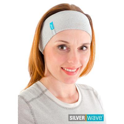 Strahlenschutz Stirnband für Damen - beige