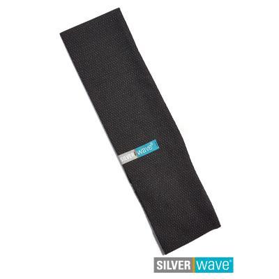 Strahlenschutz Stirnband für Herren - schwarz
