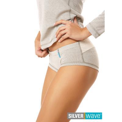 Strahlenschutz Midislip für Damen - beige