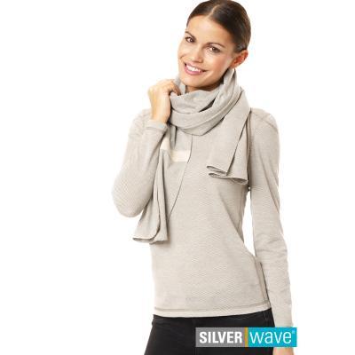 Strahlenschutz Schal für Damen 0,45 x 2,20 m - beige