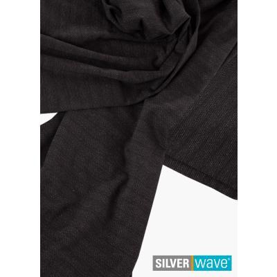 Strahlenschutz Stoff Meterware Uni schwarz 1,00 x 1,35 m