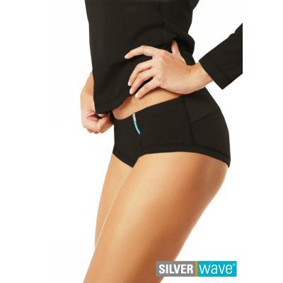 Strahlenschutz Midislip für Damen - schwarz