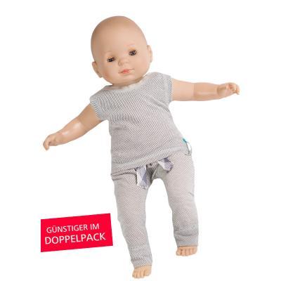 Strahlenschutz Achselhemd für Babys - beige - Doppelpack