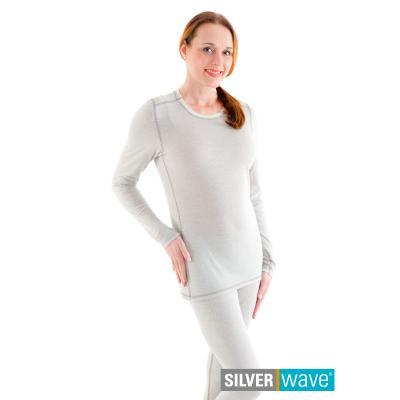 Strahlenschutz Basic Langarm-Shirt für Damen - beige