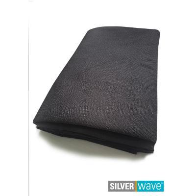 Strahlenschutz-Decke 1,30 x 2,20 m doppellagig - schwarz